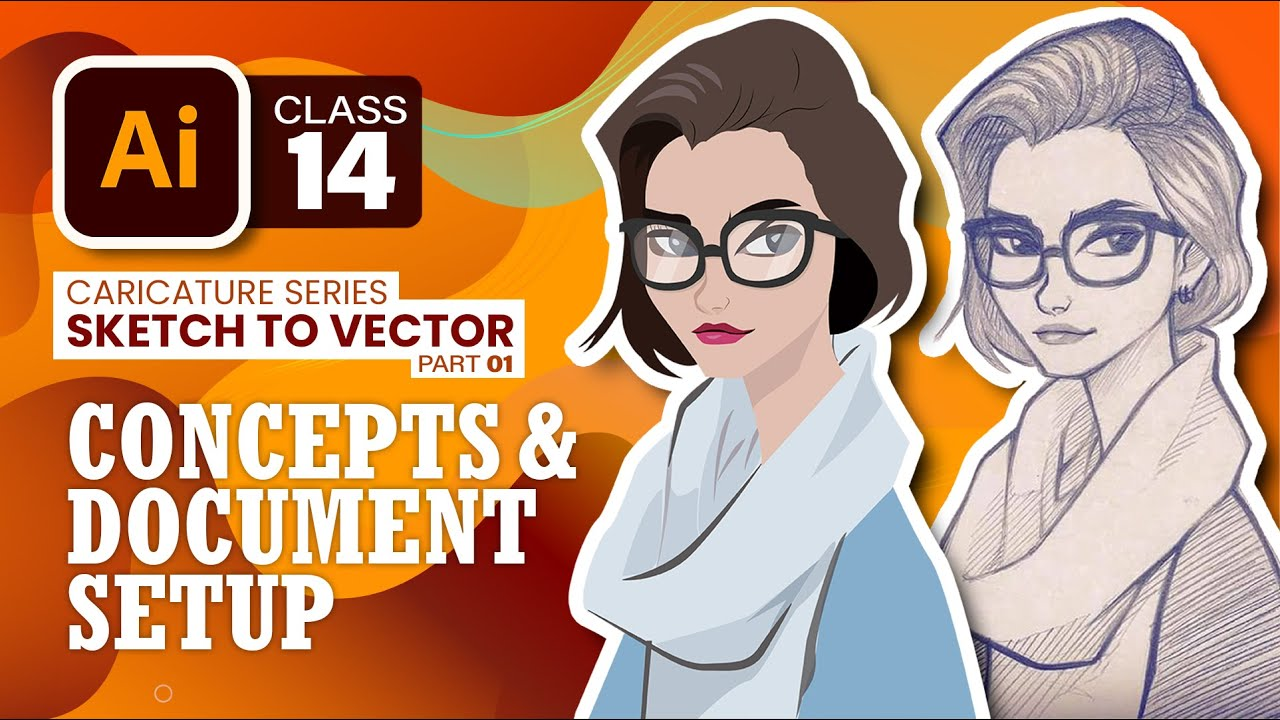 Textures & Details | Sketch to Illustration # 5 | AI#18 | Adobe Illustrator by Ali Rehman